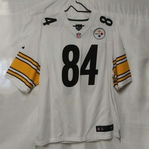Official NFL #84 Brown Pittsburgh Steelers Jersey